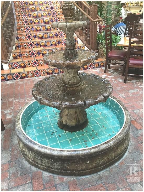 Cantera Restaurant Fountain