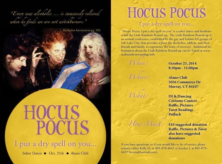 Hocus Pocus: I put a dry spell on you
