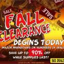 CityDeals Fall Clearance