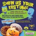 FREE Doughnut on Halloween at Krispy Kreme