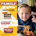 FREE Kids Meals on Thursdays at Noodles & Co