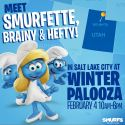 Meet Smurfette, Brainy, and Hefty this Saturday at Winter Palooza!