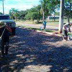 deecb767-8aa3-48c9-aea3-bfb56e592720-150x150 Secretaria Municipal de Obras realiza limpeza em prol da Romaria de Nossa Senhora dos Navegantes.