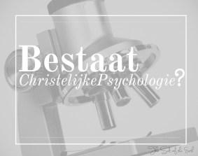 Bestaat Christelijke psychologie