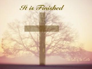 het werk aan het kruis, het is volbracht