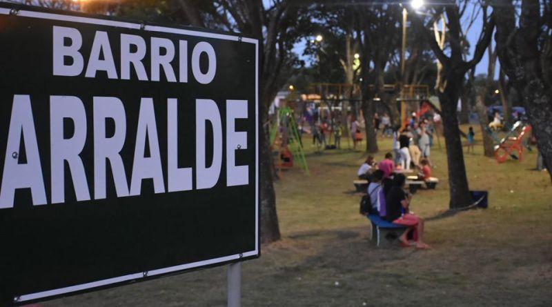 INTENDENCIA RECUPERÓ PLAZA DE BARRIO ARRALDE