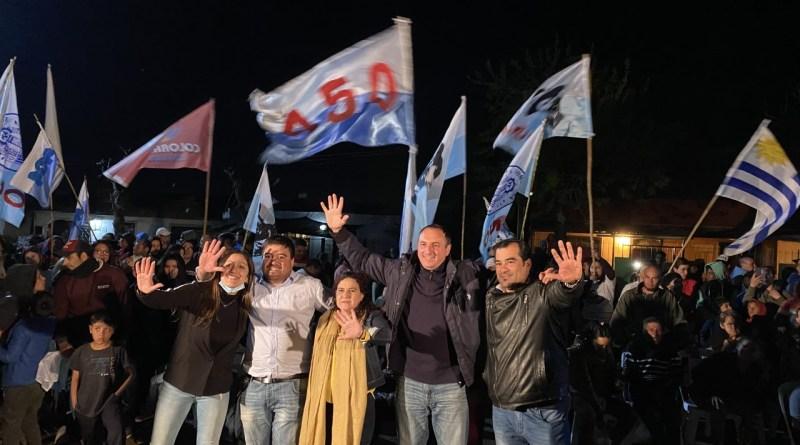 """""""EL DOMINGO GANA SALTO"""" DIJO ALBISU EN GRAN ACTO EN BARRIO DON ATILIO"""
