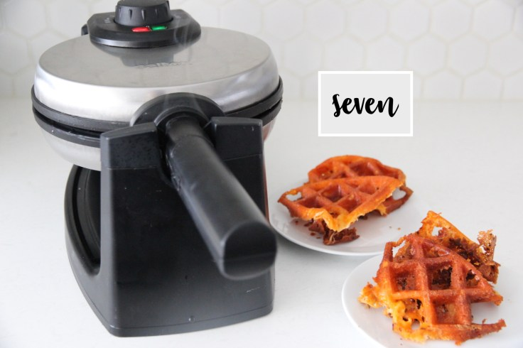 how to make cheese crisps in a waffle maker