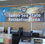 Picture of the Salton Sea Recreation Area office