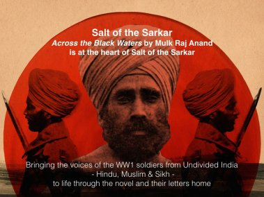 Across the Black Waters is at the heart of Salt of the Sarkar. Photo Credit: Salt of the Sarkar