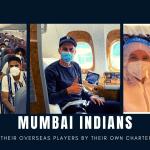 mumbai indians charter flight
