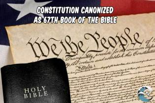Constitution canonized as 67th book of the Bible