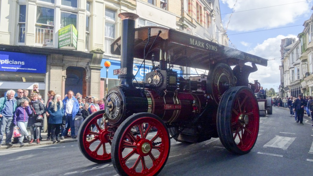 Best Cornish Events of 2018 Steam engine, Camborne