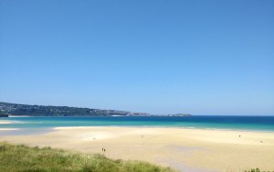hayle beach cornwalls best beaches