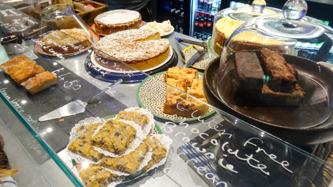 Cakes at Newlyn Filmhouse