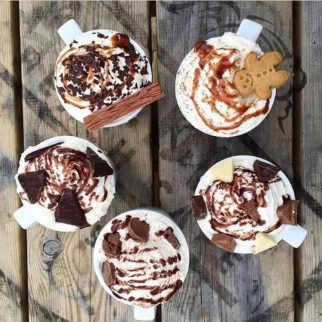 best hot chocolates in cornwall poldhu beach cafe