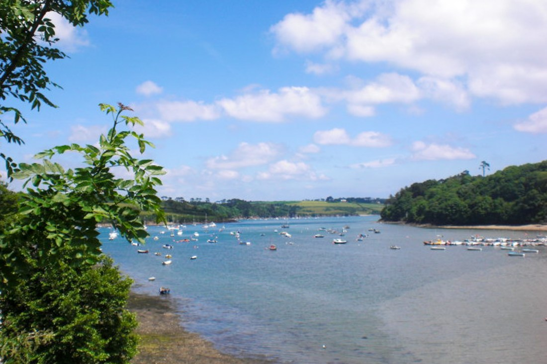 helford river walk cornwall