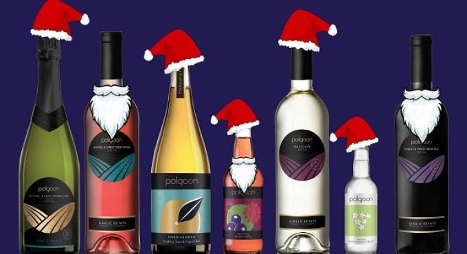 Cornish Christmas Gifts Polgoon wine cornish christmas present