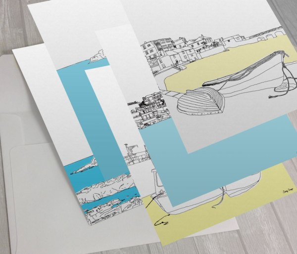 St Ives Greeting Cards Pack