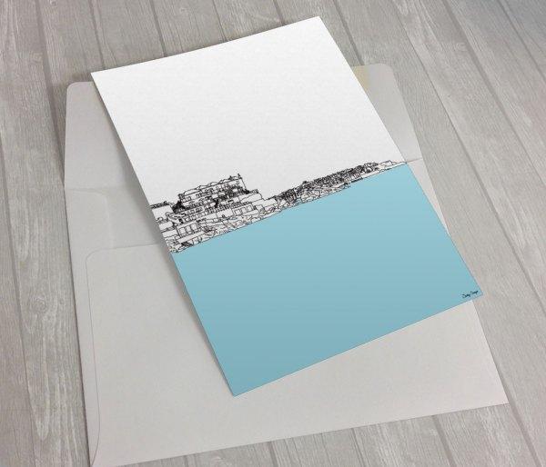 St-Ives-Porthminster-Greeting card