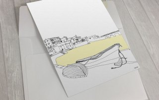 St-Ives-Three-Tunnels-Greeting Card