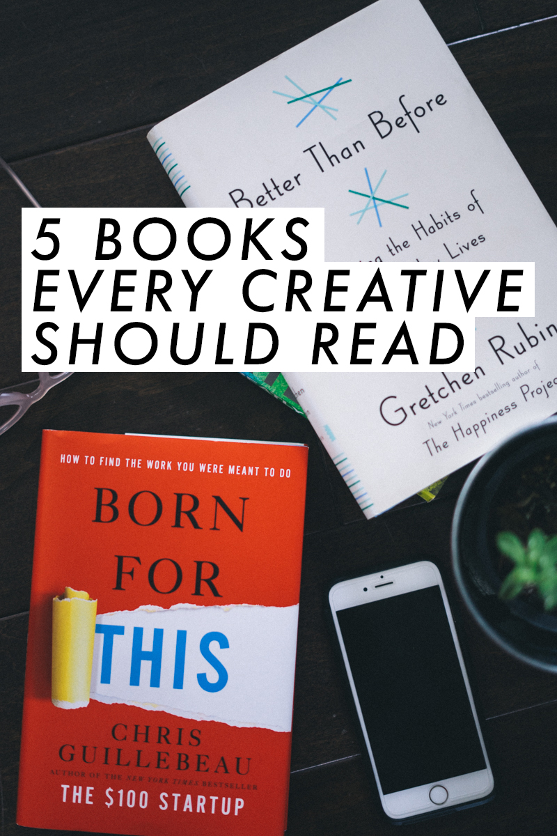 Books every creative should read! These are such good picks! | Book reviews | saltyspaces.com