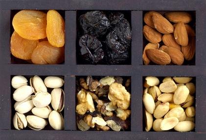 Frutas y Verduras secas o deshidratadas