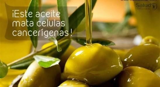 aceite de oliva cancer