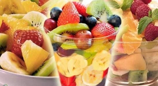 receta para hacer ensalada de frutas dietetica