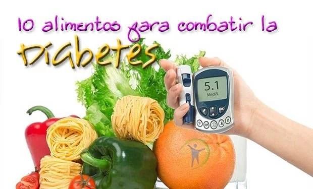 10 alimentos que ayudan a combatir la diabetes