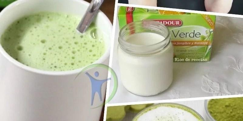 Dieta de te verde con leche para bajar de peso