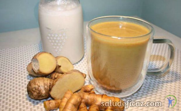 Remedio casero de coco jengibre y curcuma para desintoxicar el hígado