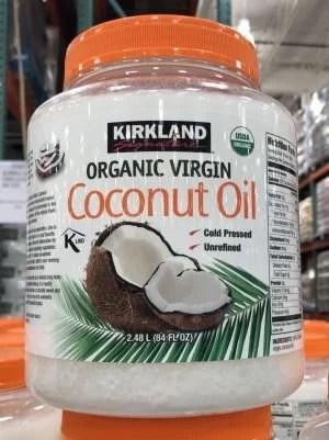 Kirkland Signature Aceite De Coco Virgen Orgánico 84 Fl Oz