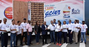Donación 500 mil unidades de cloro contra el dengue