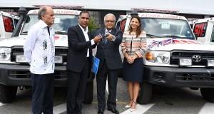 Salud Pública recibe 22 ambulancias para fortalecer el 911 en San Juan