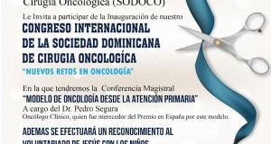 Sociedad de Cirugía Oncológica inaugura hoy su Congreso Internacional en Santiago