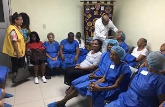 Cecanot realiza jornada de cirugía de cataratas a personas de escasos recursos