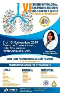 Círculo de Neumólogos Egresados del Gautier realizará congreso internacional @ Centro de Convenciones del Hotel Ocean El Faro Punta Cana | Punta Cana | La Altagracia | República Dominicana