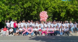 Sodomefyc realiza caminata a favor de la prevención del cáncer de mamas