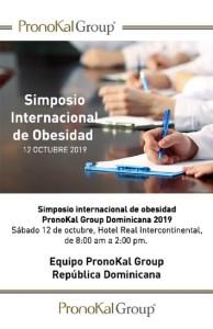 Simposio Internacional de Obesidad PronoKal Group 2019 @ Hotel Real Continental   Santo Domingo   Distrito Nacional   República Dominicana