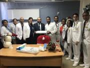 Sociedad de Urología dona equipos a las escuelas de la especialidad