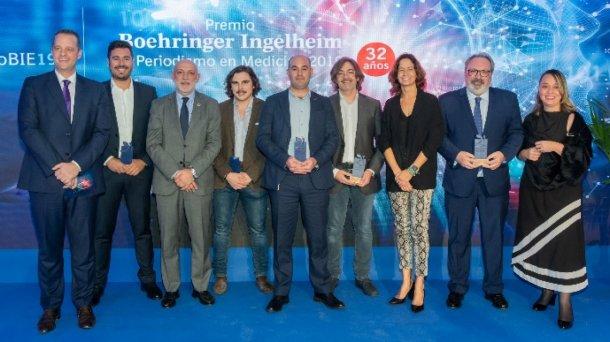 Boehringer Ingelheim entrega en España el premio al Periodismo en Medicina