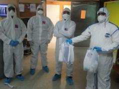 La SDOT entrega de kits a los ortopedas