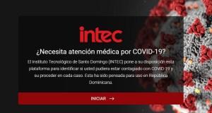INTEC lanza plataforma de ayuda para identificar posibles casos COVID-19
