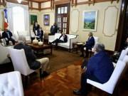 Presidente Medina da seguimiento a medidas ante coronavirus; se reúne con Comisión de Alto Nivel