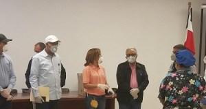 Médicos familiares hospital Dr. Ricardo Limardo se unen a labor realiza DPS Puerto Plata de seguimiento a casos COVID-19