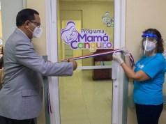 SNS y UNICEF implementan programa Mamá Canguro en hospitales San Cristóbal y Azua