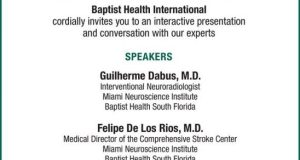 El Baptist Health invita al webinar Stroke and Covid-19