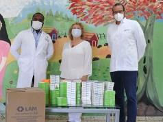 Laboratorios LAM dona fármacos al hospital psiquiátrico Padre Billini