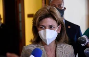 Vicepresidenta Raquel Peña dice ya tienen protocolo para eliminar el toque de queda